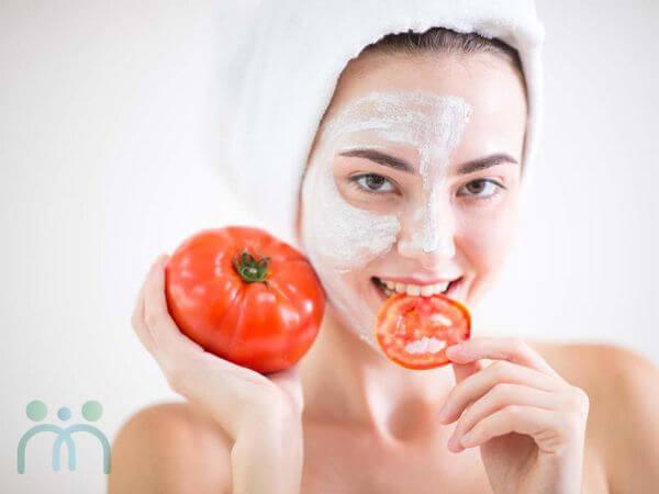 Ăn cà chua giúp làn da trắng sáng khỏe mạnh