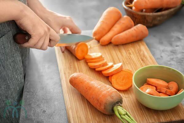 Ăn cà rốt sau sinh giúp bảo vệ da mặt