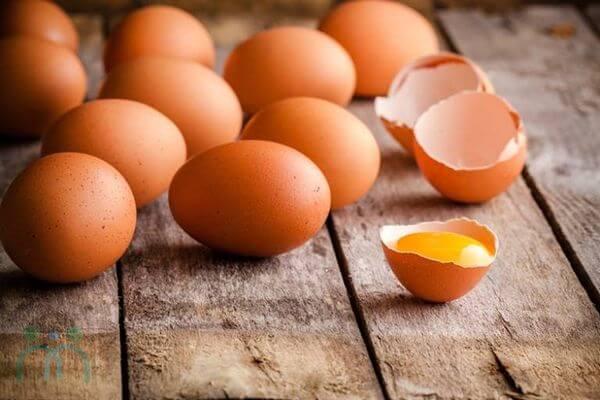 Trứng giúp lấy lại sự mịn màng cho làn da