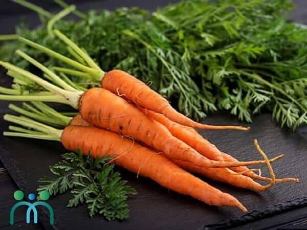 Cà rốt giúp tăng cường sức đề kháng cho da