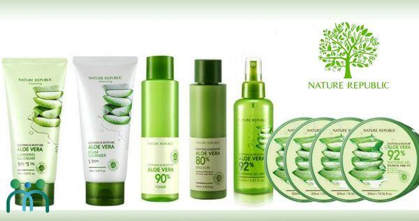 Nature Republic thương hiệu mỹ phẩm Hàn Quốc giá rẻ