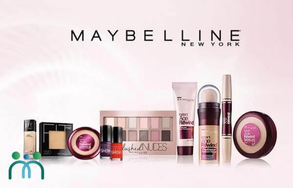 Maybelline thương hiệu mỹ phẩm USA giá rẻ mà tốt