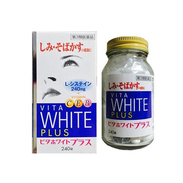 Viên uống trắng da Vita White Plus Nhật Bản