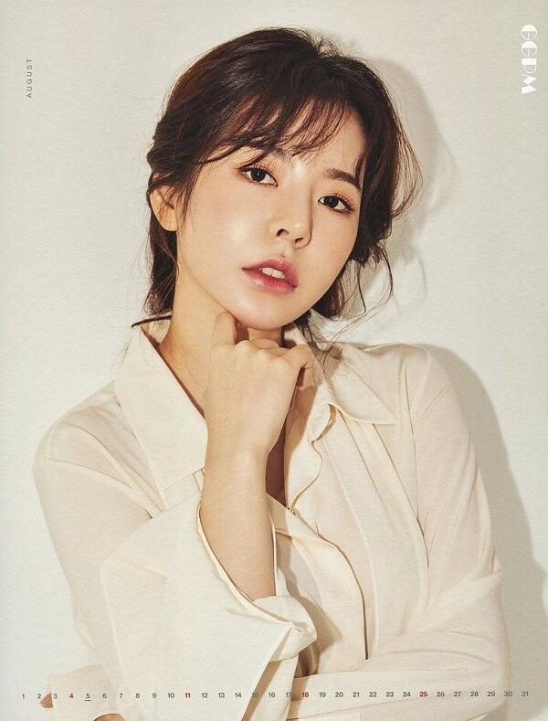 Sunny (SNSD) đẹp dịu dàng với đôi môi căng mọng