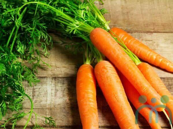 Ăn cà rốt mang đến làn da tươi trẻ, hồng hào
