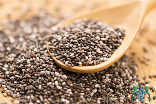 Hạt chia giàu omega-3 giúp ngăn ngừa tình trạng khô da