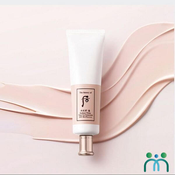 Kem chống nắng Whoo Radiant White Tone Up Suncream