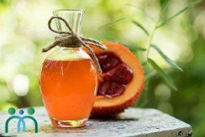 Dầu gấc và mật ong trị thâm môi