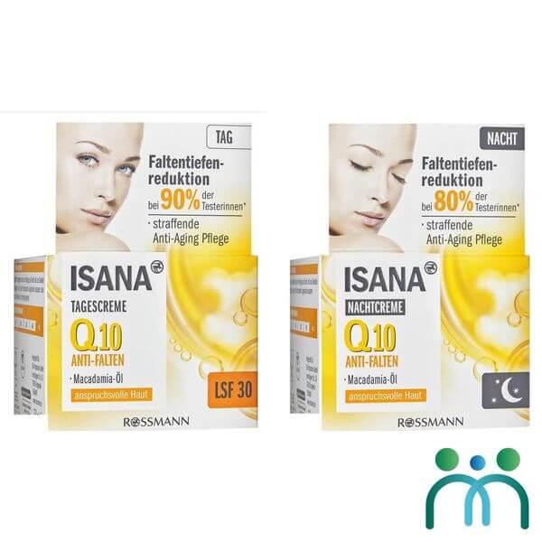 Serum dưỡng da Isana q10 Anti-Falten Konzentrat