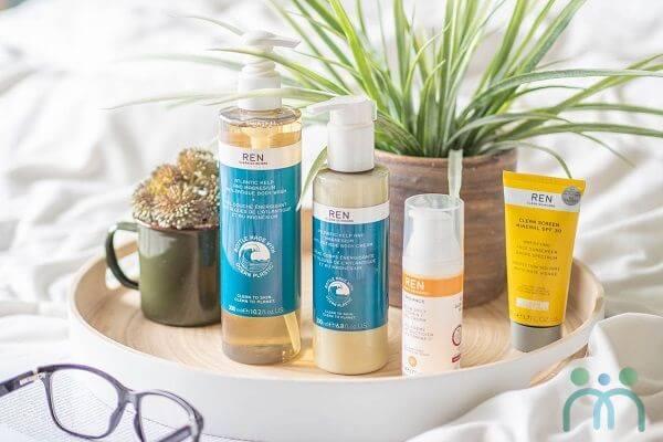 Thương hiệu mỹ phẩm cho mẹ bầu - Ren Clean Skincare