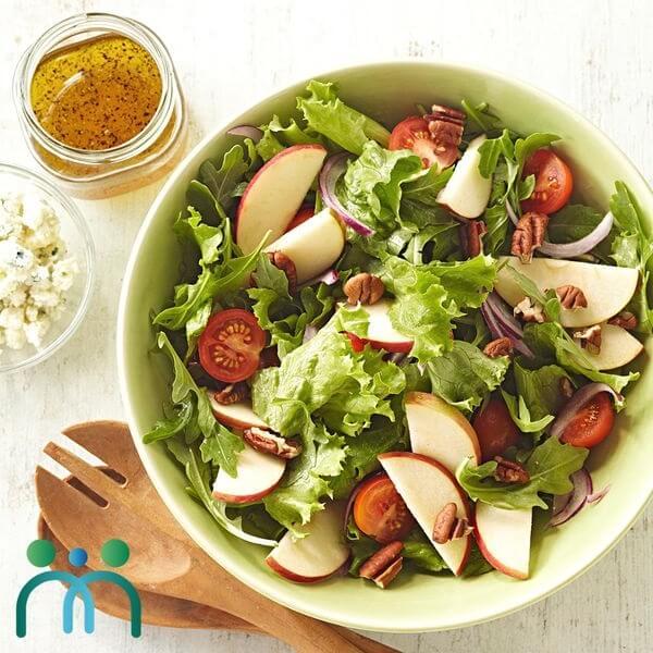 Salad táo cà chua