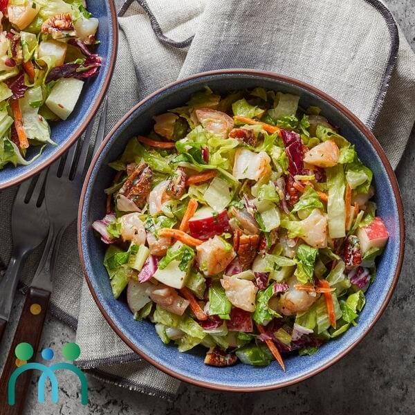 Salad táo ổi