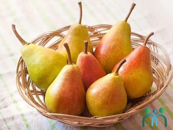 Lê có hàm lượng chất xơ cao hơn hầu hết các loại trái cây khác