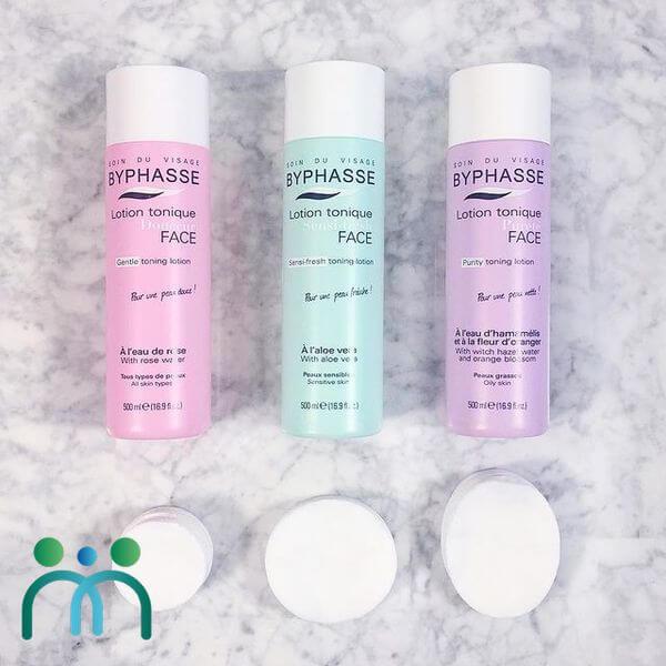 Ba dòng nước hoa hồng Byphasse phù hợp với từng loại da