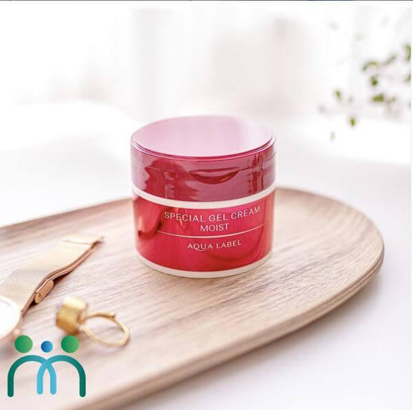 Kem dưỡng da Nhật Bản Shiseido Aqualabel 5 in 1 Special Gel Cream