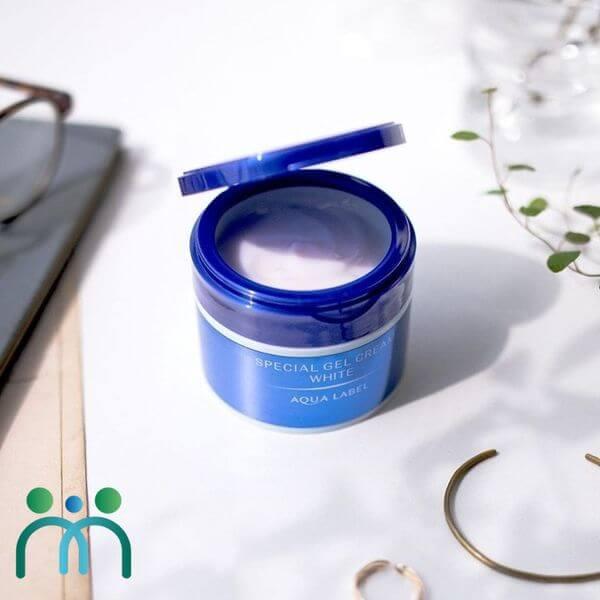 Kem dưỡng trắng da Shiseido Aqualabel White Care Cream