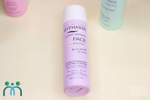 Byphasse Face Soft Toner màu tím cho da dầu
