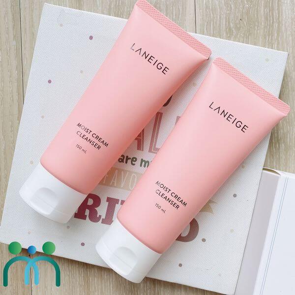 Sữa rửa mặt Laneige Moist Cream Cleanser
