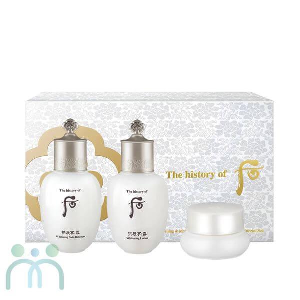 Bộ dưỡng trắng trị nám Whoo Radiant White Special Gift Set