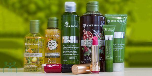 Yves Rocher sở hữu phong phú các dòng sản phẩm khác nhau