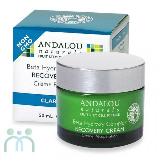 Kem dưỡng ẩm da mặt Andalou Beta Hydroxy Recovery Cream