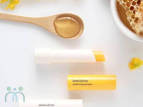 Son dưỡng môi Innisfree Canola Honey Lip Balm có tốt không ?