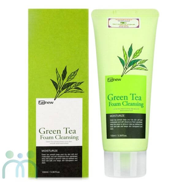 Sữa rửa mặt thiên nhiên Benew Green Tea Foam Cleansing