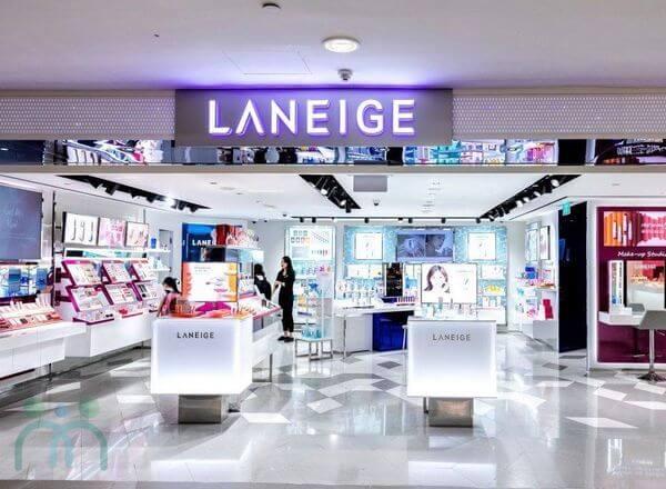 Thương hiệu mỹ phẩm Hàn Quốc Laneige