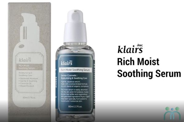 Review serum dưỡng ẩm Klairs Rich Moist Soothing