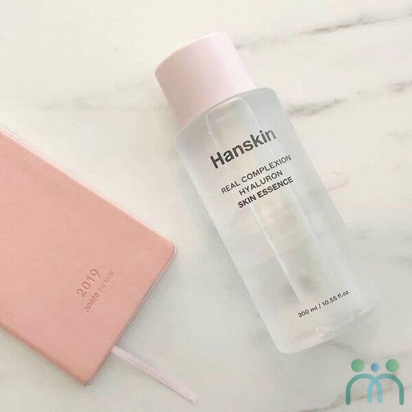 Review tinh chất dưỡng ẩm Hanskin Real Complexion Hyaluron Skin Essence