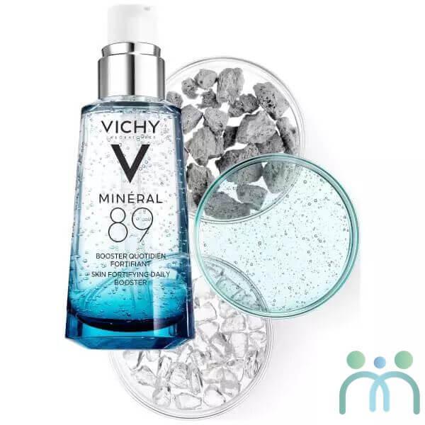 Thành phần Vichy Mineral 89 lành tính, phù hợp với mọi loại da
