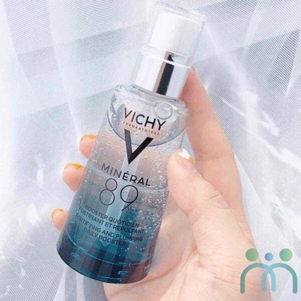 Bao bì thiết kế Serum Vichy Mineral 89 thanh lịch, sang trọng